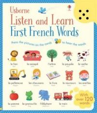 Listen and Learn. First French Words - okładka książki
