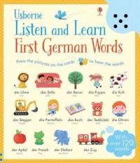 Listen and Learn. First German Words - okładka książki