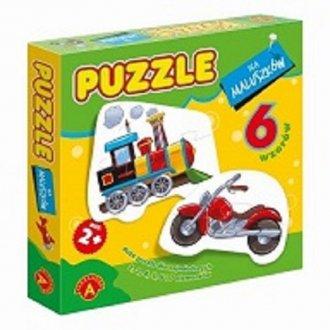 Lokomotywa (puzzle dla maluszków) - zdjęcie zabawki, gry