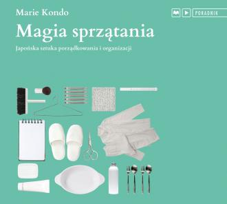 Magia sprzątania - pudełko audiobooku