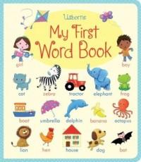 My First Word Book - okładka książki
