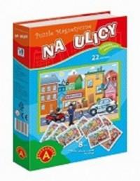 Na ulicy (puzzle magnetyczne) - zdjęcie zabawki, gry