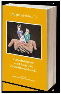 Nie głos, ale słowo... 5. Odpowiedzialność - okładka książki