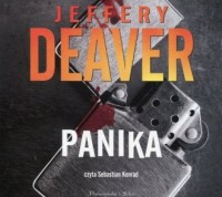 Panika - pudełko audiobooku