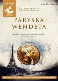 Paryska wendeta - pudełko audiobooku