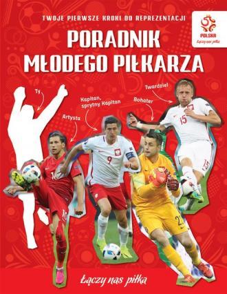 Poradnik młodego piłkarza - okładka książki