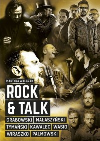 Rock & Talk - okładka książki