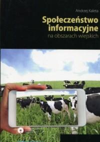 Społeczeństwo informacyjne na obszarach - okładka książki