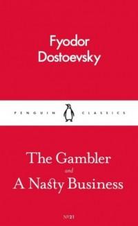 The Gambler and a Nasty Business - okładka książki