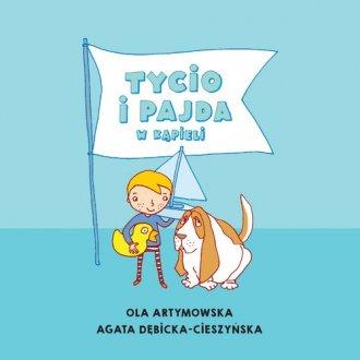 Tycio i Pajda w kąpieli - okładka książki