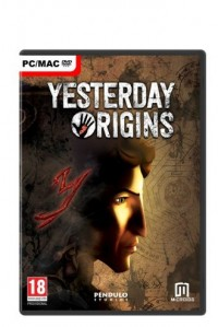 Yesterday origins (PC) - pudełko programu