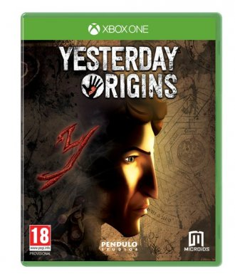 Yesterday Origins (Xbox One) - pudełko programu