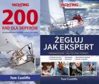 200 rad dla skiperów / Żegluj jak ekspert. PAKIET - okładka książki