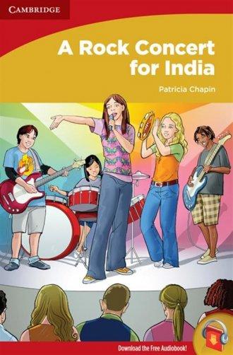 A Rock Concert for India - okładka książki
