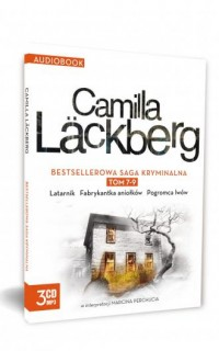 Camilla Lackberg. Tom 7-9 (CD). - pudełko audiobooku
