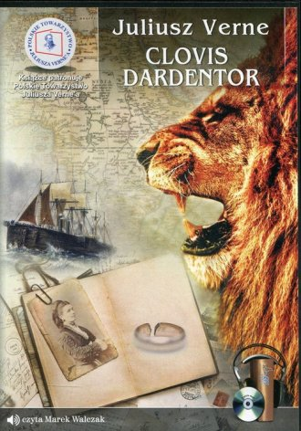 Clovis Dardentor - pudełko audiobooku