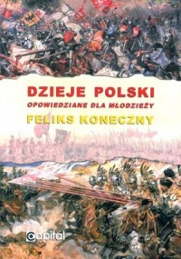 Dzieje Polski opowiedziane dla młodzieży - okładka książki