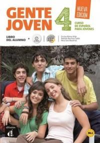 Gente Joven 4. Podręcznik B1.1 (+ CD) - okładka podręcznika
