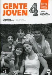 Gente Joven 4. Zeszyt ćwiczeń - okładka podręcznika