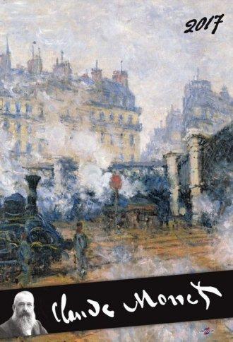 Kalendarz 2017. Claude Monet - okładka książki