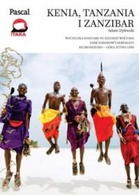 Kenia, Tanzania, Zanzibar - okładka książki