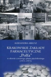 Krakowskie zakłady farmakologiczne - okładka książki