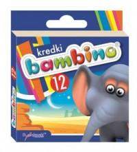 Kredki bambino (12 kolorów) - zdjęcie produktu