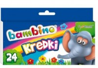 Kredki bambino (24 kolory) - zdjęcie produktu