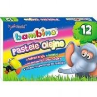 Kredki pastele olejne bambino (12 kolorów) - zdjęcie produktu