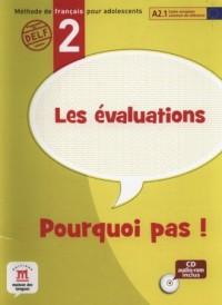 Les Evalutions Pourquoi pas 2 (+ CD) - okładka podręcznika
