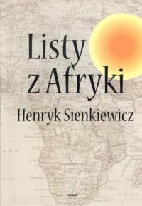 Listy z Afryki - okładka książki