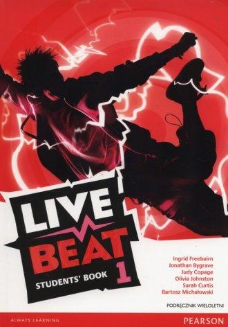 Live Beat 1. Students Book. Podręcznik - okładka podręcznika