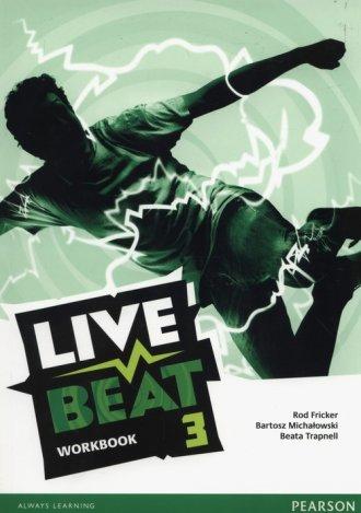 Live Beat 3. Workbok (+ CD) - okładka podręcznika