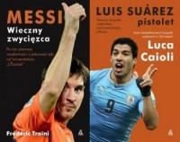 Messi / Suarez. PAKIET 2 KSIĄŻEK - okładka książki