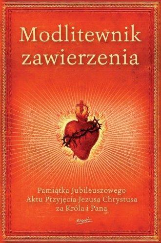 Modlitewnik zawierzenia. Pamiątka - okładka książki