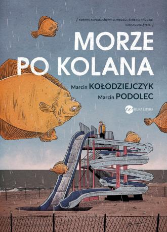 Morze po kolana - okładka książki