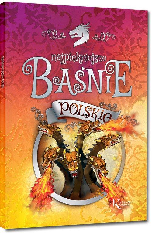 Najpiękniejsze baśnie polskie - okładka książki