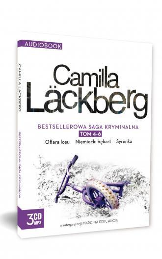 Camilla Lackberg. Tom 4-6 (CD). - okładka płyty