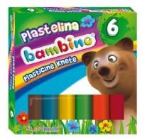 Plastelina bambino (6 kolorów) - zdjęcie produktu
