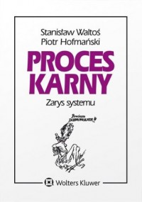 Proces karny. Zarys systemu - Piotr - okładka książki