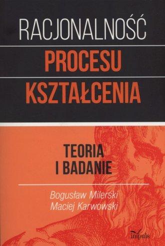 Racjonalność procesu kształcenia. - okładka książki
