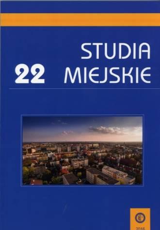 Studia Miejskie. Tom 22 - okładka książki