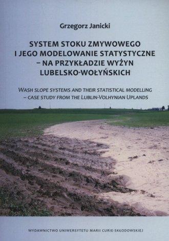 System stoku zmywowego i jego modelowanie - okładka książki