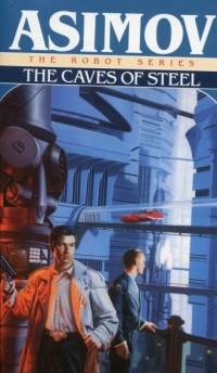 The Caves of Steel - okładka książki