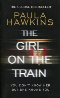The Girl on the Train - Paula Hawkins - okładka książki