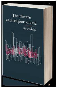 The theatre and religious drama - okładka książki