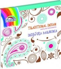 Traditional Indian. Wzory do kolorowania - okładka książki