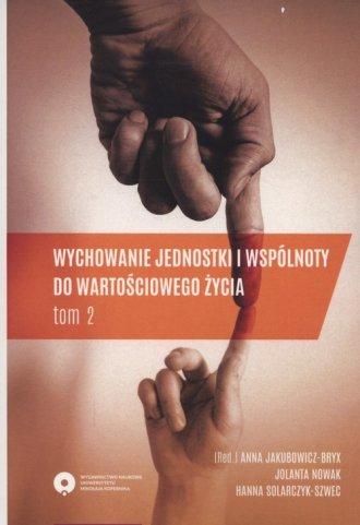 Wychowanie jednostki i wspólnoty - okładka książki