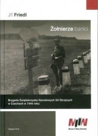 Żołnierze banici. Brygada Świętokrzyska Narodowych Sił Zbrojnych w Czechcach w 1945 roku - okładka książki