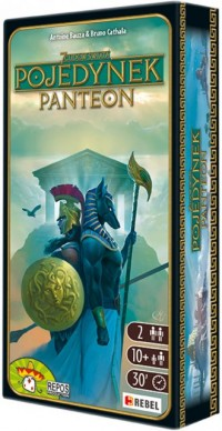 7 Cudów Świata. Pojedynek Panteon - zdjęcie zabawki, gry